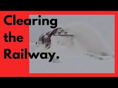 Clearing the Railway - Train snowblower -Train Snow Plow - Rotary Snow Plow Blower Snow Plow, Rotary, Locomotive, Super Powers, Science And Technology, Time Travel, Train, Youtube, Locs