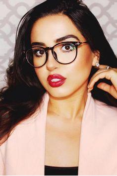 Women's full frame mixed material eyeglasses - S6271 | Firmoo.com