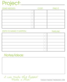 Free Project Planner Template Cool Project Planner Template Printable  Zoro.blaszczak.co