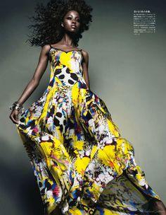 Nyasha Matohondze for Vogue Japan, November 2011 | Sofy's Fashion Dream