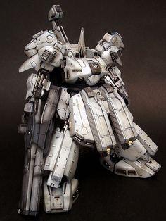 HGUC 1/144 The-O Custom Build - Gundam Kits Collection News and Reviews