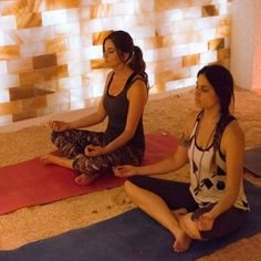 Salty yoga—a salt therapy-yoga hybrid—claims to cure colds, reduce, inflammation, and make you a better athlete.