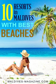 10 Maldives Resorts with the Best Beaches - The Most Stunning Beaches in Maldives. Covered with pristine sands, the Maldives is sprinkled with some of the most beautiful beaches in the world Maldives Beach, Visit Maldives, Maldives Resort, Beach Resorts, Small Luxury Hotels, Luxury Travel, Maldives Destinations, Maldives Holidays, Beaches In The World