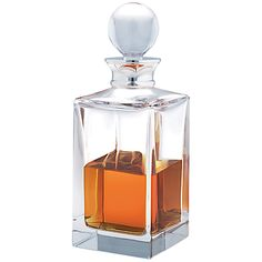 Endless love: Contemporary designs to last a lifetime. Carr's Crystal spirit decanter. #johnlewis #glassware Registering your list is free and easy - simply call or visit your local shop, or go online: www.johnlewisgiftlist.com