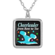 CHEERLEADER FROM BOW TO TOE SQUARE PENDANT NECKLACE http://www.zazzle.com/mysportsstar/gifts?cg=196898030795976236&rf=238246180177746410 #Cheerleading #Cheerleader #Cheerleadinggifts #CheerleaderTShirts #Cheerleadingparty