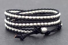 An Adjustable 3 Wrap Bracelet #offbeatcuts #offbeatboutique