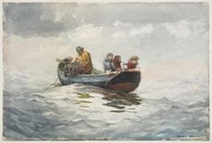 Winslow Homer - Crab Fishing - Winslow Homer - Wikipedia