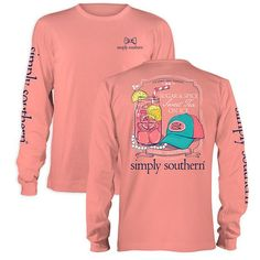 Simply Southern Preppy Sugar & Spice Sweet Tea Long Sleeve T-Shirt love this oneee
