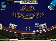 RTG Blackjack  http://www.gamesandcasino.com/casino-table-games/blackjack/rtg-blackjack.htm  RealTime Gaming, a software platform stocked with an impressive list of blackjack offerings, showcases this classic blackjack game free of any side bets or deviations to splitting or doubling. It's just blackjack, pure and sweet.