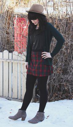 Hat  Goorinbros Skirt  UrbanOutfitters Cardigan  Zara 2b3a25ad45b