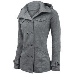 Girl-Kapuzenjacke - Girl-Kapuzenjacke von Cushy Coat - Artikelnummer: 204438 - Ab 39,99 € - EMP Merchandising • Rock & Metal Online Shop