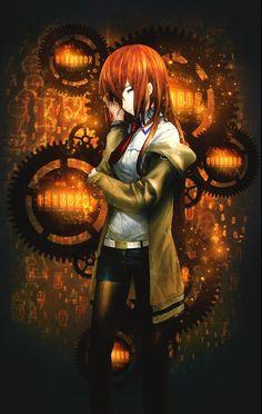 Divergence by sparda – Steins Gate Chica Anime Manga, Kawaii Anime, Neko, Manga Art, Anime Art, Gate Pictures, Steins Gate 0, Kurisu Makise, Best Waifu