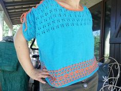 Crochet Top, Mens Tops, T Shirt, Women, Fashion, Knits, Supreme T Shirt, Moda, Tee Shirt