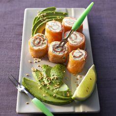 Bouchées de saumon aux herbes #apetizers #MiseEnBouche