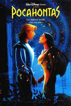"Walt Disney Poster of Captain John Smith and Pocahontas from ""Pocahontas"" 34843592 Walt Disney Characters, Disney Movie Posters, Film Disney, Disney Animated Movies, Pixar Movies, Cartoon Movies, Disney Cartoons, Disney Animation, Pocahontas Movie"