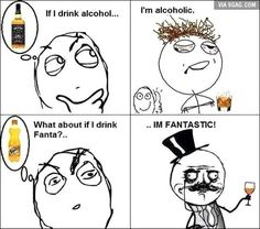 The Troll Face comic. Troll Face comic Vol. If I drink. Crazy Funny Memes, Really Funny Memes, Stupid Memes, Funny Relatable Memes, Wtf Funny, Funny Posts, Funny Stuff, Funny Things, Derp Comics