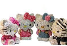 """Hello Kitty"" Swarovski."