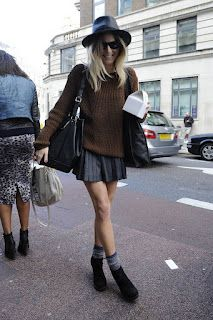 40 Stylish Fall Outfits For Women - Fashion 2015 Street Style Chic, Looks Street Style, Fashion Week, Look Fashion, Womens Fashion, Fashion Trends, City Fashion, Fashion 2015, Fashion Mode
