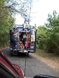 A bus in Nicaragua