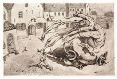 MASIUTIN Vasily,  Conscience,  1911, Paper, etching and its varieties, 294х360 (170х255).