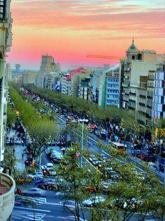 Barcelona - Passeig de Gracia | Catalonia
