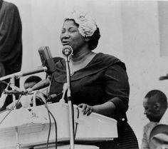 mahalia jackson | Mahalia Jackson - May 17, 1957, Prayer Pilgrimage for Freedom in ...