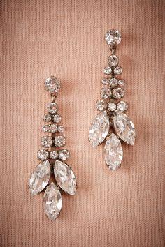 Trevelez Crystal Drop Earrings from @BHLDN