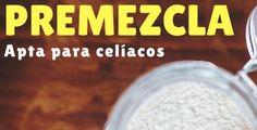 Harina para celíacos: cómo se prepara la premezcla libre de gluten Gluten Free Flour, Gluten Free Cookies, Lactose Free, Flour Recipes, Gluten Free Recipes, Sweet Recipes, Free Food, Keto, Polenta