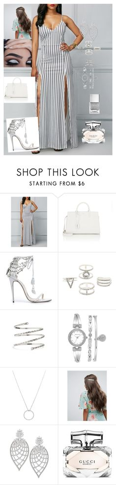 """""""Untitled #6"""" by busy74040 ❤ liked on Polyvore featuring Yves Saint Laurent, Marchesa, Charlotte Russe, Venus, Anne Klein, Roberto Coin, ASOS, Adriana Orsini and Nails Inc."""