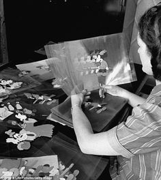 Changing times: It wasnt until 1944, largely because of the men who left their Disney posts after Pearl Harbor, that the first Ink and Painter was promoted to an assistant animator position