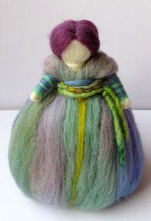 Muñecos de Vellón Wet Felting, Needle Felting, Felt Fairy, Arts And Crafts, Diy Crafts, Waldorf Dolls, Diy Dollhouse, Felt Dolls, Creative Inspiration