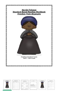Harriet Tubman Standard Based Workbook - $3.00