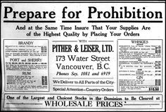 Prohibition in the United States was a national ban about the sale, production, and transportation of alcohol (1917 - 1933). The prohibition was supposed to reduce the number of crimes, but in fact, it stimulated the proliferation of rampant underground, organized and widespread criminal activity.