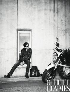 men + motorcycles
