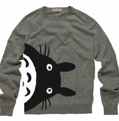 Totoro sweater! want this sooooo bad!