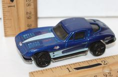 "HOT WHEELS 2.5"" CORVETTE STINGRAY AUTO SPORTS CAR #327 MATTEL VEHICLE USED 1979 #Mattel #Chevrolet"