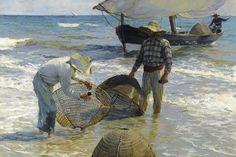 Joaquín Sorolla, Valencianische Fischer, 1895, Öl auf Leinwand, 65 x 87 cm, Sammlung Broere Charitable Foundation