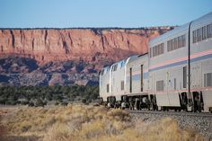 Southwest Chief  Chicago - Albuquerque - Los Angeles We were on the upper level, sleeping cars :)