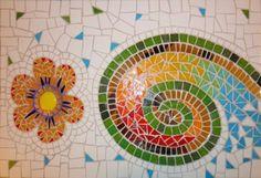 técnica del mosaico veneciano y trencadis mosaiquismo murales mosaico veneciano,ceramicos,espejos mosaiquismo  mosaico,trencadis