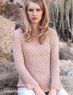 Pullover knitting pattern free