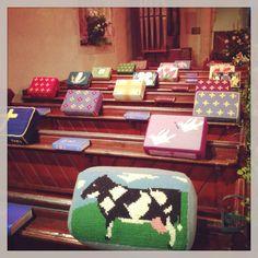 Cool church kneelers :-)