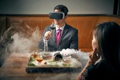 Smell O Vision Meets Vr With Givaudan S Technology Chicago Restaurants Virtual Reality Cocktails