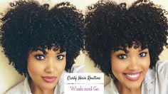 My Curly Hair Routine | Wash and Go [Video] - http://community.blackhairinformation.com/video-gallery/natural-hair-videos/curly-hair-routine-wash-go-video/