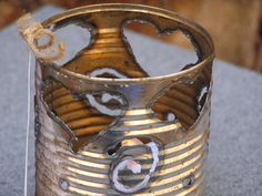 Reclaimed Metal Luminary Hearts and Swirls  gift by SoulSeeds, $10.00
