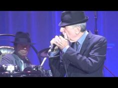 Leonard Cohen sings , Light as the breeze for the first time live in Ghent Belgium on August 14th 2012