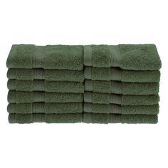Superior Bamboo 12-Piece Face Towel Set - 650GSM FACE CE
