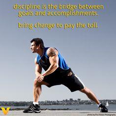#vitaminshoppecontest Discipline is my bridge!