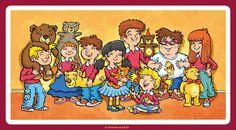© Barnabus - #Dzieci i #misie ▪ #Children and #teddy bears.