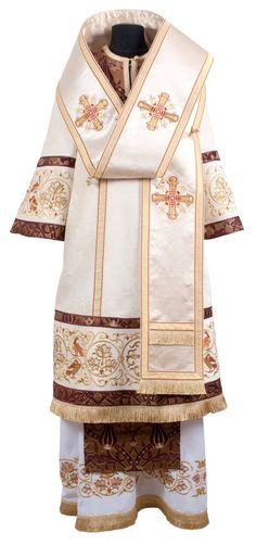 Bishop Vestment with Phoenix Embroidery from the Workshop of St. Elisabeth…