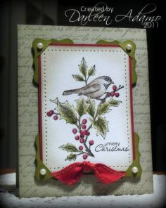 Beautiful Season by darleenstamps - Cards and Paper Crafts at Splitcoaststampers Homemade Christmas Cards, Merry Christmas Card, Christmas Cards To Make, Xmas Cards, Handmade Christmas, Homemade Cards, Holiday Cards, Winter Christmas, Christmas 2019